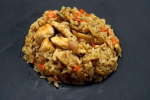 Рис с курицей