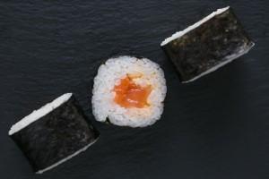 Спайси с копченым лососем