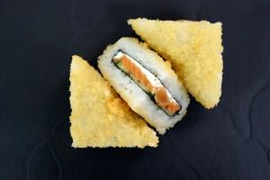 Треугольник с лососем